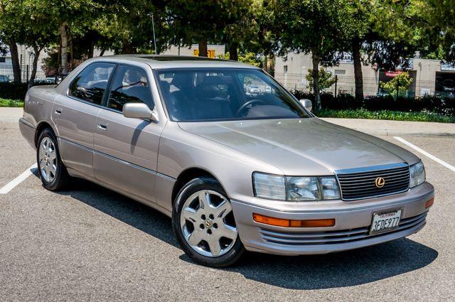1993 Lexus LS 400  AUTO - LEATHER - SUNROOF Reseda, CA 40
