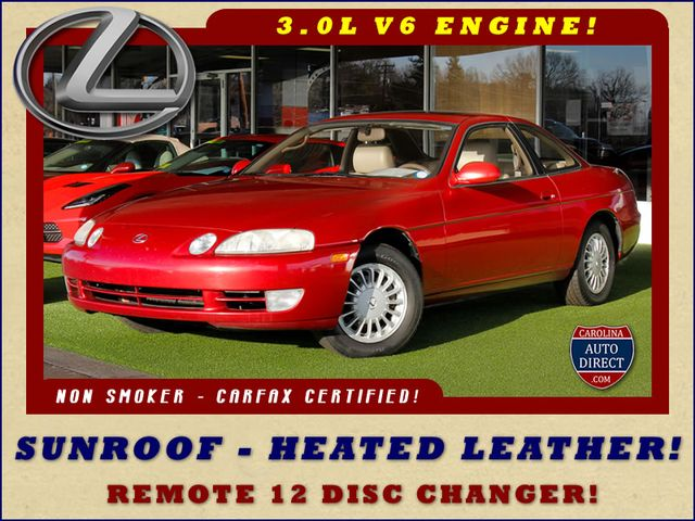 1993 Lexus SC 300 SUNROOF - HEATED LEATHER - PREMIUM SOUND! Mooresville , NC 0