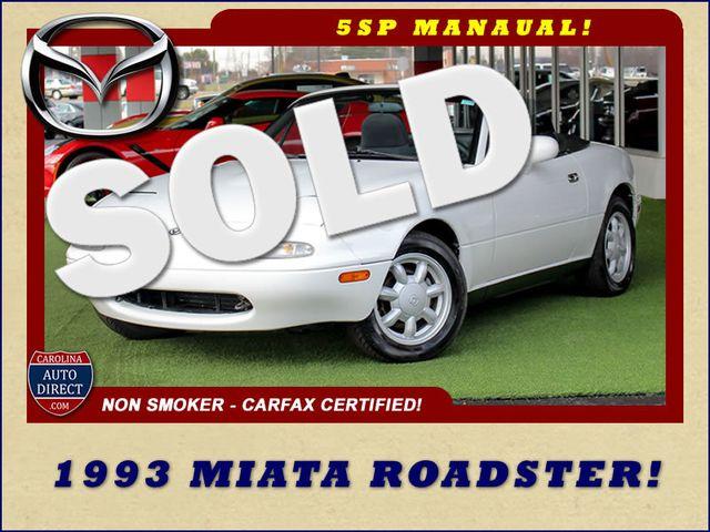 1993 Mazda MX-5 Miata Roadster - 5SP MANUAL! Mooresville , NC 0