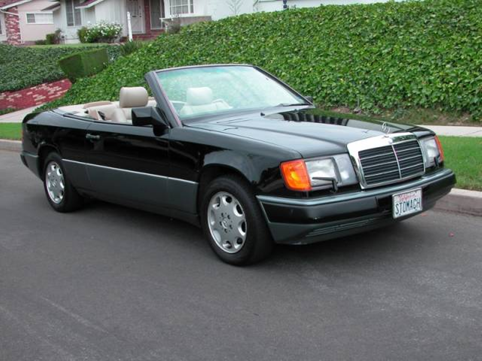 1993 mercedes benz 300 series cabriolet 300ce low miles for Mercedes benz southern california