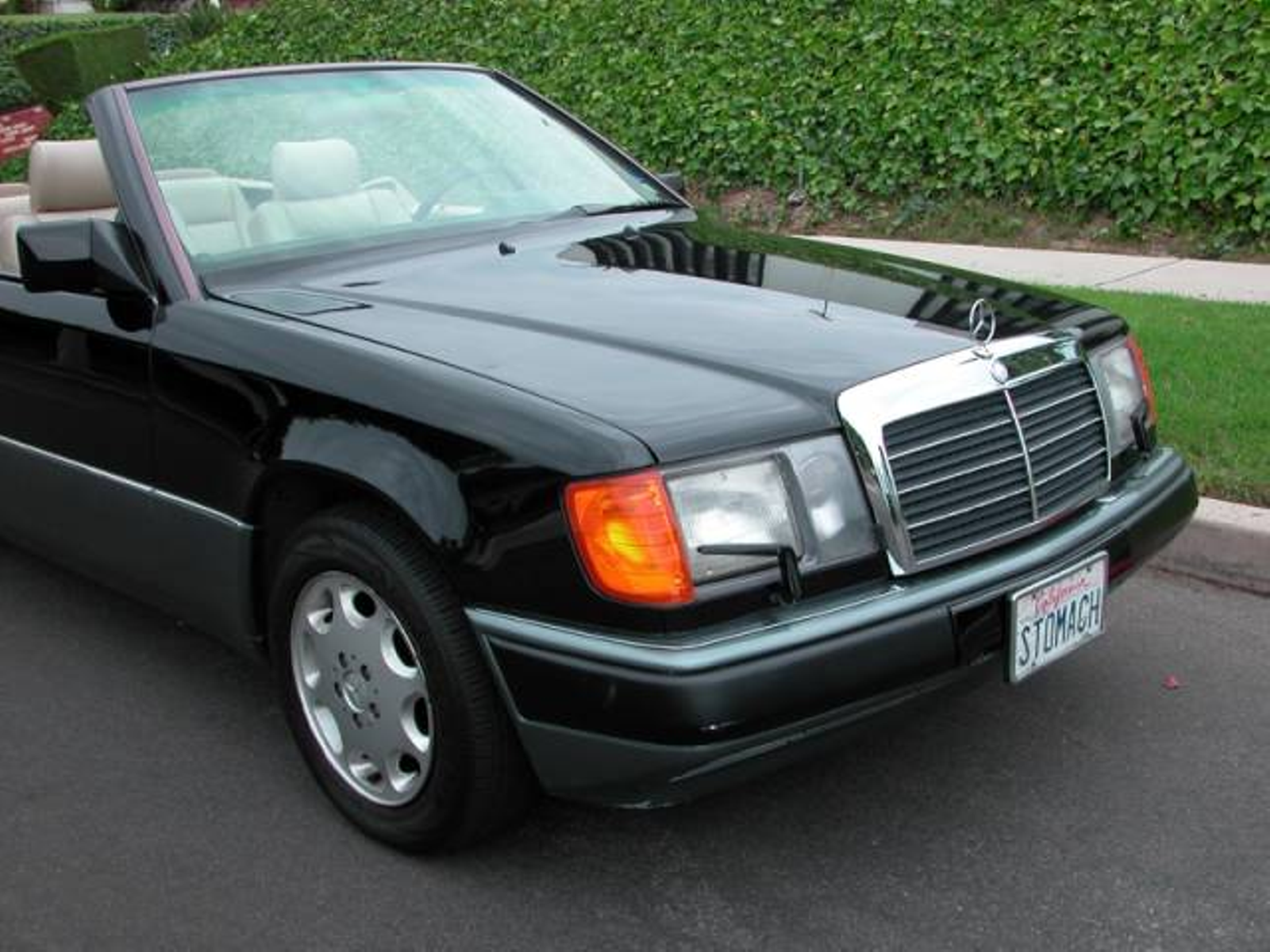 1993 mercedes benz 300 series cabriolet 300ce low miles for Mercedes benz 300 series