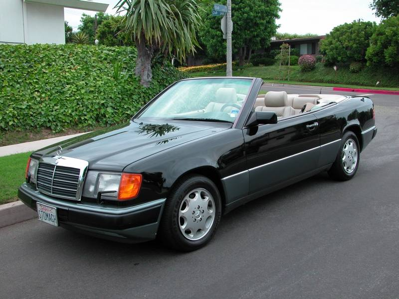 1993 mercedes benz 300 series cabriolet 300ce low miles for Low price mercedes benz