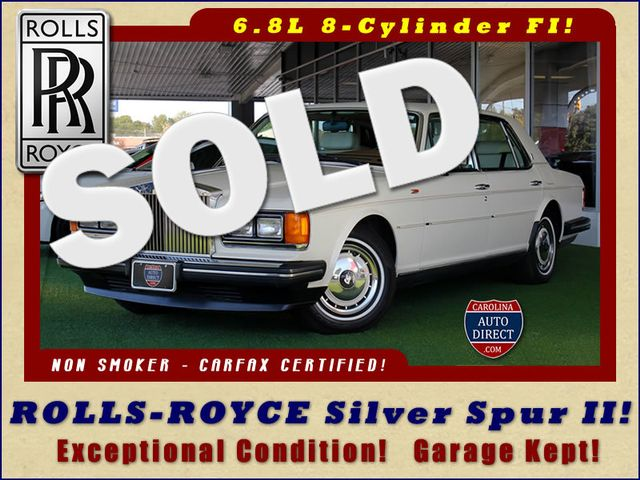 1993 Rolls-Royce Silver Spur II EXCEPTIONAL CONDITION - GARAGE KEPT! Mooresville , NC 0