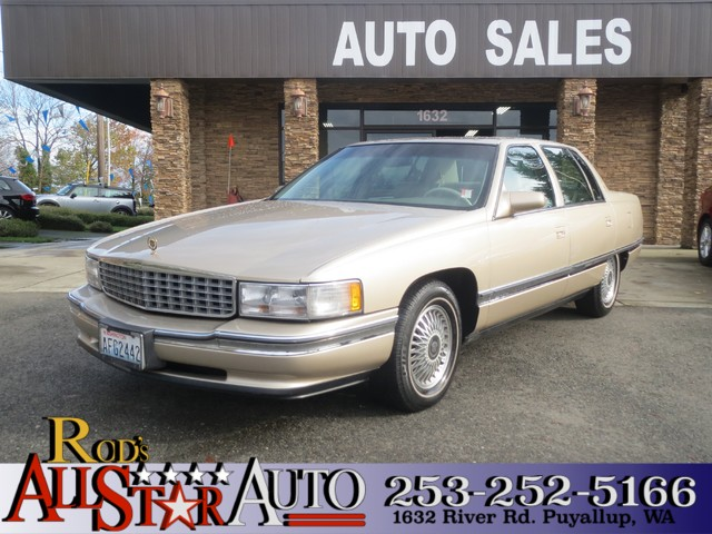 1994 Cadillac Deville The CARFAX Buy Back Guarantee that comes with this vehicle means that you ca