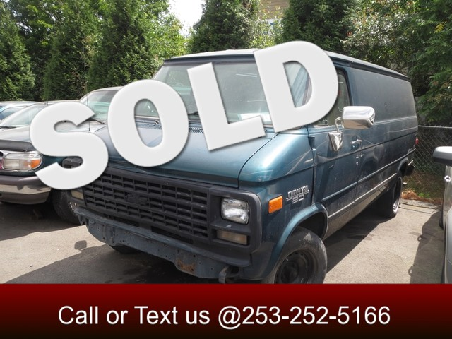 1994 Chevrolet Chevy Van The CARFAX Buy Back Guarantee that comes with this vehicle means that you