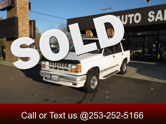 1994 Ford Explorer Limited 4WD The CARFAX Buy Back Guarantee that comes with this vehicle means th