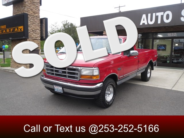 1994 Ford F-150 XLT 4WD The CARFAX Buy Back Guarantee that comes with this vehicle means that you
