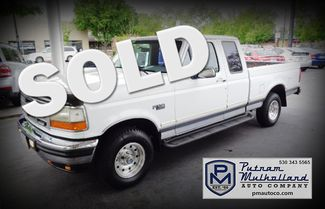 1994 Ford F150 Super Short Bed 4x4 Chico, CA