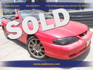 1994 Ford Mustang GT Convertible | Denver, CO | AA Automotive of Denver in Denver, Littleton, Englewood, Aurora, Lakewood, Morrison, Brighton, Fort Lupton, Longmont, Montbello, Commerece City CO