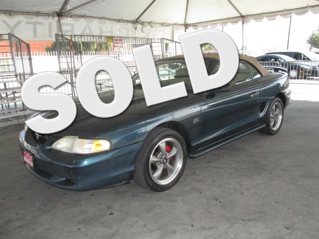 1994 Ford Mustang GT This particular Vehicles true mileage is unknown TMU Please call or e-mai