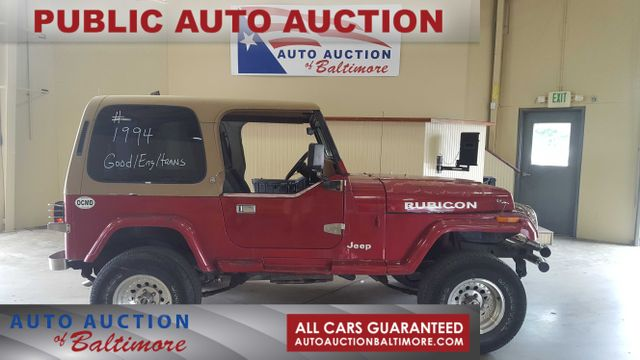 1994 Jeep Wrangler SE   JOPPA, MD   Auto Auction of Baltimore  in JOPPA MD