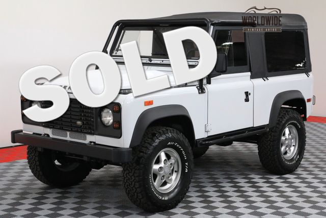 1994 Land Rover DEFENDER 90 OVER THE TOP BUILD LS CONVERSION! AUTO  | Denver, Colorado | Worldwide Vintage Autos