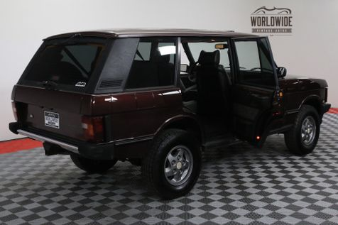 1994 Land Rover RANGE ROVER RANGE ROVER CLASSIC LWB | Denver, Colorado | Worldwide Vintage Autos in Denver, Colorado