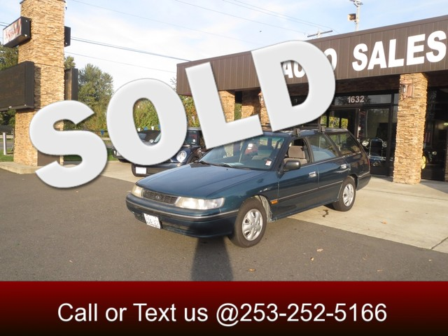1994 Subaru Legacy Wagon L AWD The CARFAX Buy Back Guarantee that comes with this vehicle means th