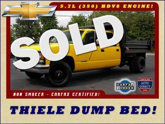 1995 Chevrolet C/K 3500 Crew Cab DRW RWD - THIELE DUMP TRUCK Mooresville , NC