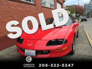 1995 Chevrolet Camaro Z28 Coupe 46,347 Miles Original 1  Owner 5.7L V8 6-Speed 100% All Stock & Original Seattle, Washington