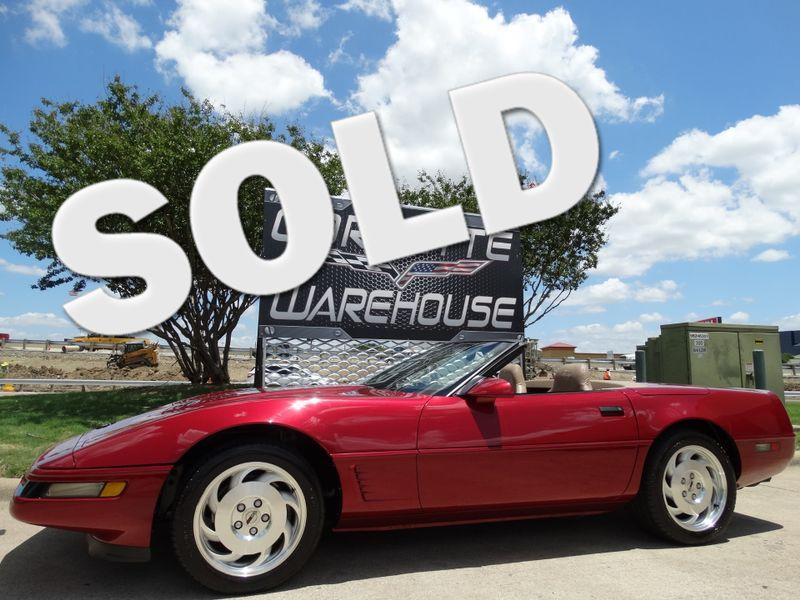 1995 Chevrolet Corvette Convertible Auto, CD Player, Alloys Only 23k! | Dallas, Texas | Corvette Warehouse