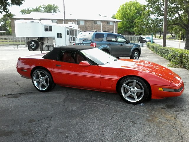 1995 Chevrolet Corvette San Antonio, Texas 4