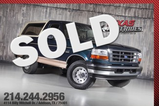 1995 Ford Bronco Eddie Bauer 5.8L in Addison