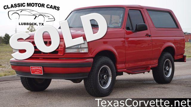 1995 Ford Bronco XL | Lubbock, Texas | Classic Motor Cars