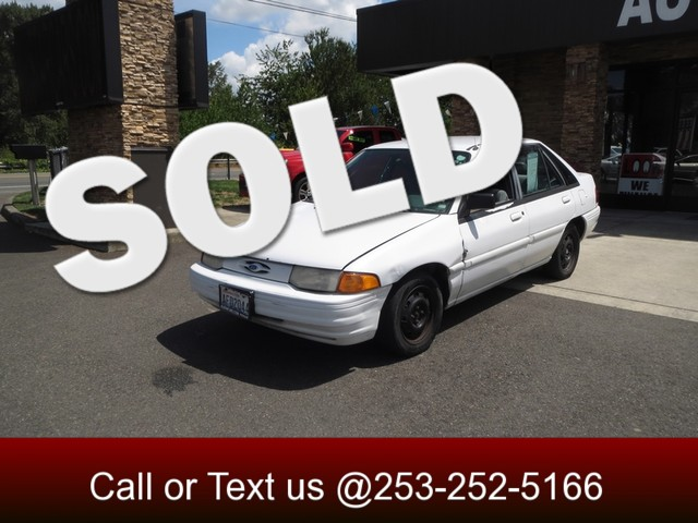 1995 Ford Escort LX The CARFAX Buy Back Guarantee that comes with this vehicle means that you can