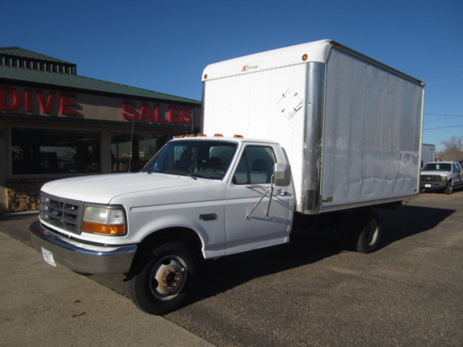1995 ford f 350 chassis cab xl glendive mt glendive sales corp. Black Bedroom Furniture Sets. Home Design Ideas