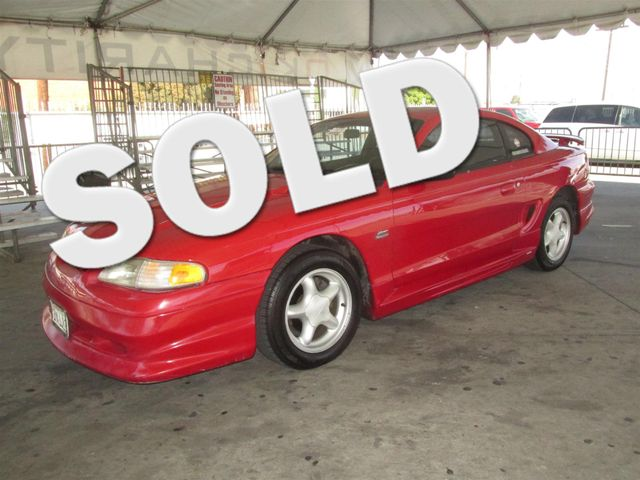 1995 Ford Mustang GT Please call or e-mail to check availability All of our vehicles are availa