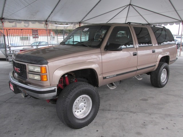 1995 GMC Suburban This particular Vehicle comes with 3rd Row Seat Please call or e-mail to check