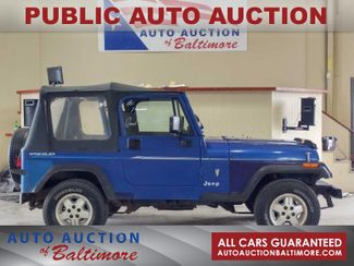 1995 Jeep Wrangler S | JOPPA, MD | Auto Auction of Baltimore  in Joppa MD