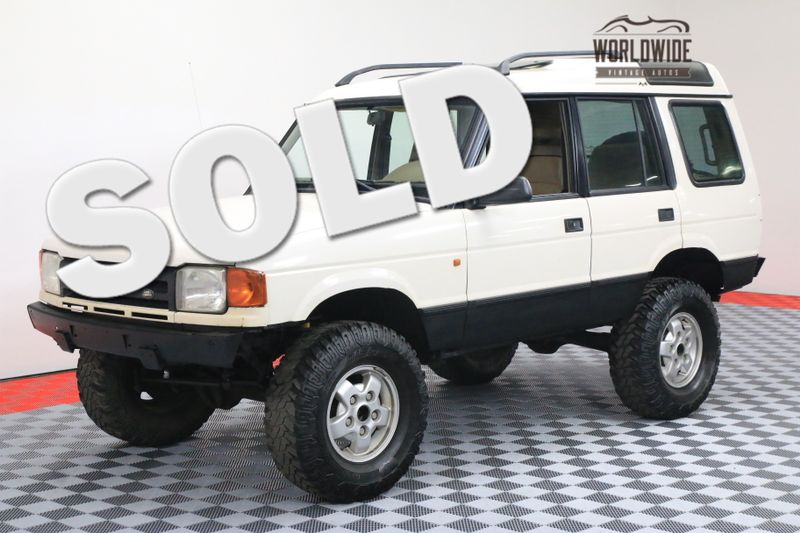 1995 Land Rover DISCOVERY OFF ROAD CUSTOM $2500 SUSPENSION | Denver, CO | Worldwide Vintage Autos