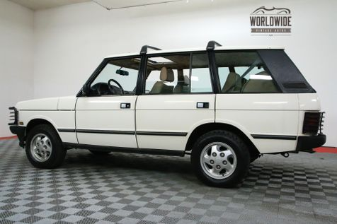 1995 Land Rover RANGE ROVER SUNROOF AUTOMATIC V8 CLASSIC LWB  | Denver, CO | WORLDWIDE VINTAGE AUTOS in Denver, CO