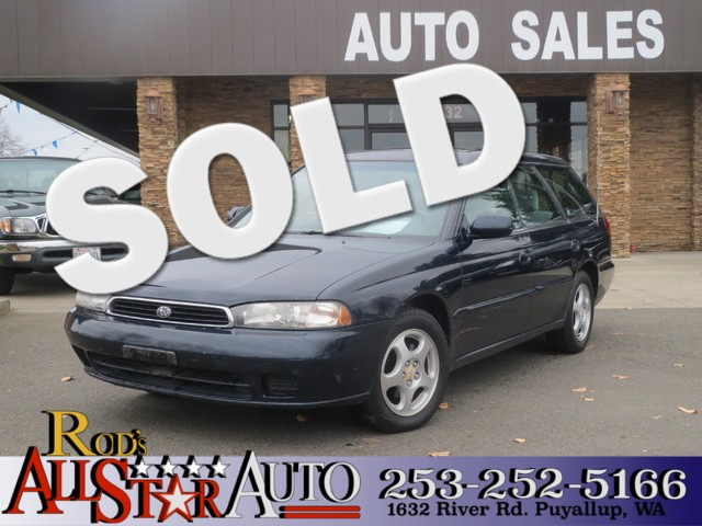 1995 Subaru Legacy Wagon AWD The CARFAX Buy Back Guarantee that comes with this vehicle means that
