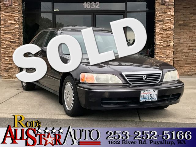 1996 Acura RL Base The CARFAX Buy Back Guarantee that comes with this vehicle means that you can b