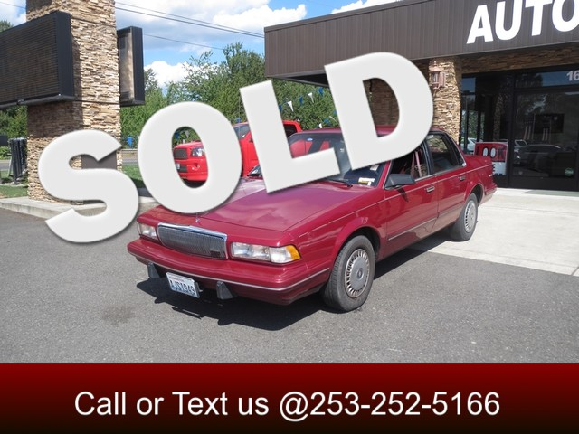 1996 Buick Century The CARFAX Buy Back Guarantee that comes with this vehicle means that you can b