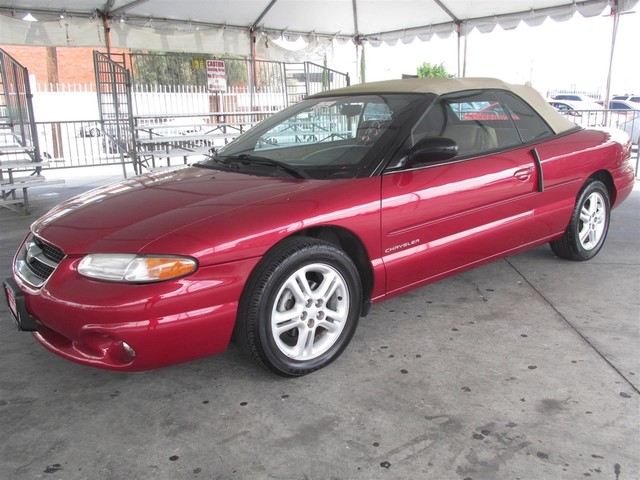 1996 Chrysler Sebring JXi Please call or e-mail to check availability All of our vehicles are a