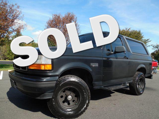 1996 Ford Bronco XLT Leesburg, Virginia 0