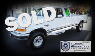 1996 Ford F250 Super Cab Turbo Diesel Long Bed 4x4 Chico, CA