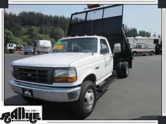 1996 Ford F450 11FT Flatbed 2WD Burlington, WA