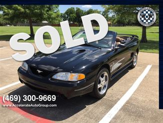 1996 Ford SVT Mustang Cobra NICE LOW MILES! in Garland
