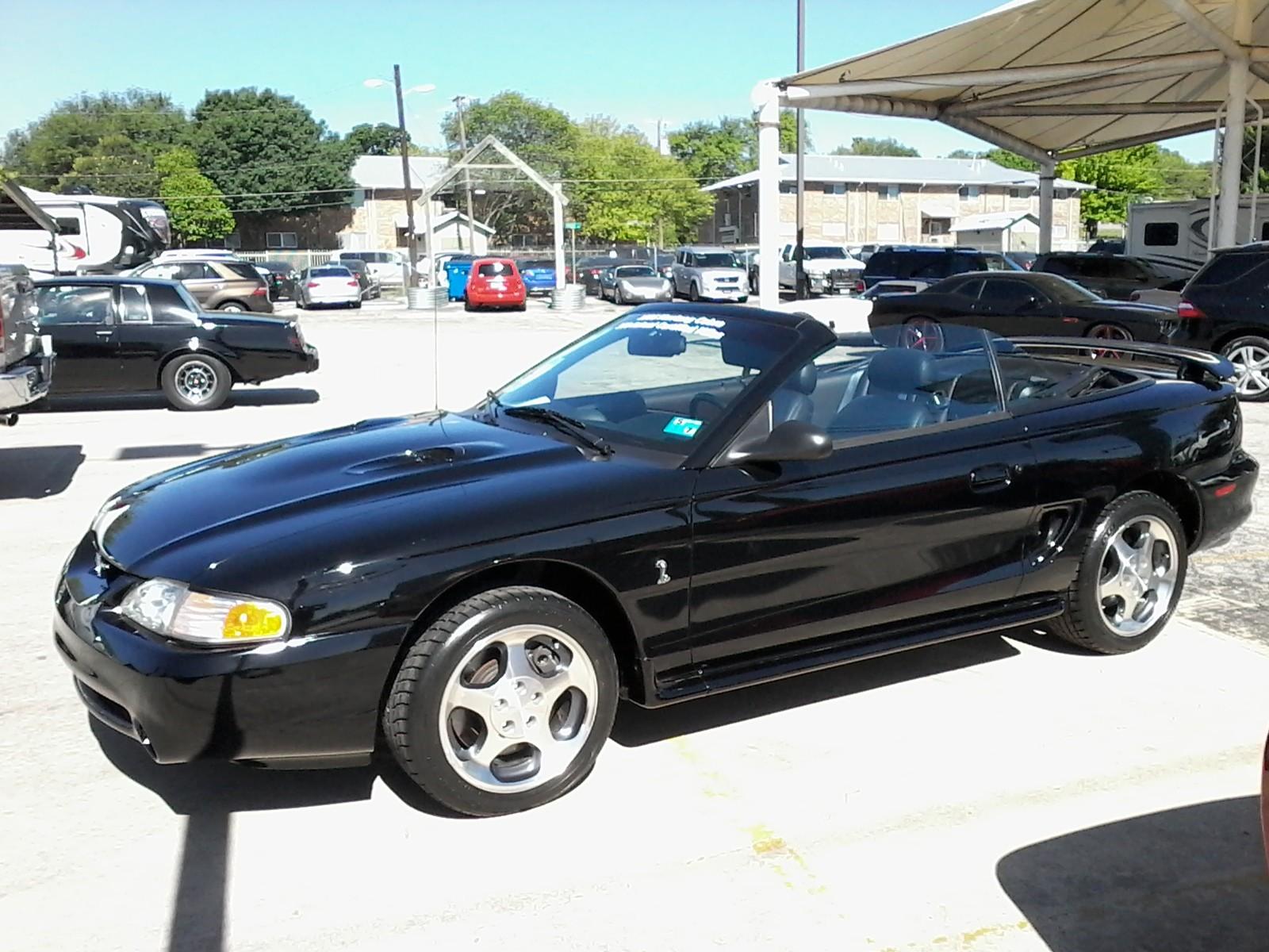1996 Ford Mustang Cobra Convertible Ebay