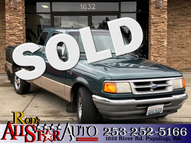 1996 Ford Ranger XL This vehicle is a CarFax certified one-owner used car Pre-owned vehicles can