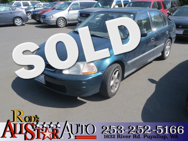 1996 Honda Civic LX The CARFAX Buy Back Guarantee that comes with this vehicle means that you can