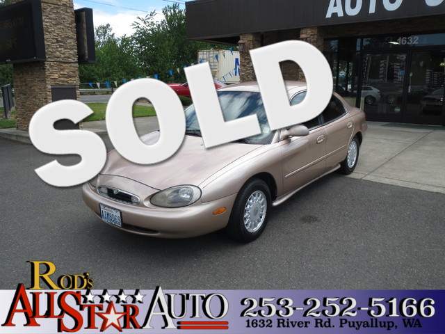 1996 Mercury Sable GS The CARFAX Buy Back Guarantee that comes with this vehicle means that you ca