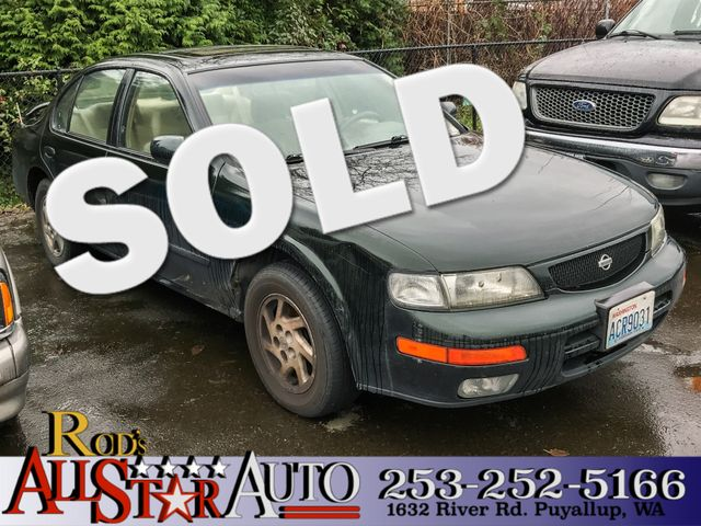 1996 Nissan Maxima GXE The CARFAX Buy Back Guarantee that comes with this vehicle means that you c