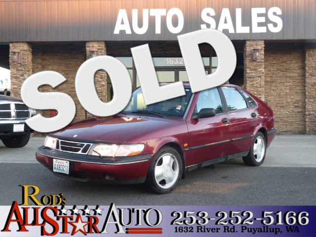 1996 Saab 900 SE The CARFAX Buy Back Guarantee that comes with this vehicle means that you can buy