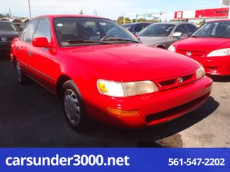 1996 Toyota Corolla DX Lake Worth , Florida 1