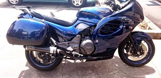 1996 Triumph TROPHY 900CC BLUE LOADED TOURING BIKE Cocoa, Florida