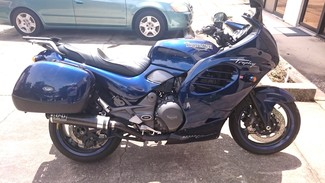 1996 Triumph TROPHY 900CC BLUE LOADED TOURING BIKE Cocoa, Florida 1