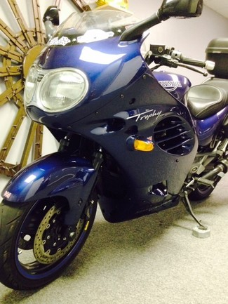 1996 Triumph TROPHY 900CC BLUE LOADED TOURING BIKE Cocoa, Florida 11