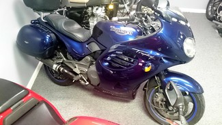 1996 Triumph TROPHY 900CC BLUE LOADED TOURING BIKE Cocoa, Florida 3